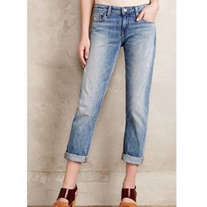 Anthro Pilcro Hyphen Relaxed Jeans